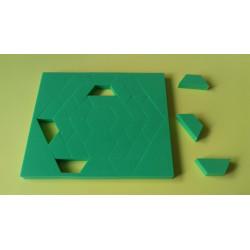 Pitágoras hexagonal