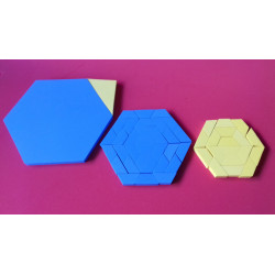 Pitágoras Hexagonal Grande