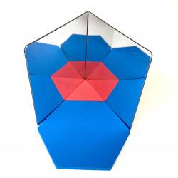 Libro de espejos 10x10 cm