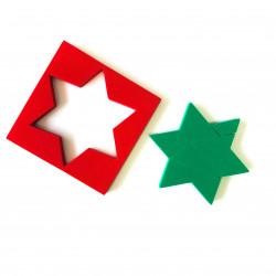 Puzzle de la estrella
