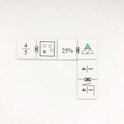 Domino de fracciones V