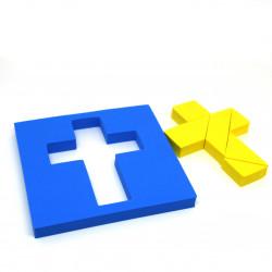 Puzzle cruz latina