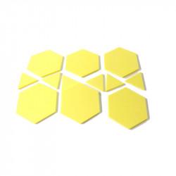 Hexágonos y triangulos