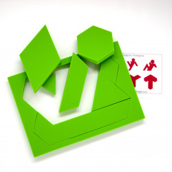 Tangram triangular (10...