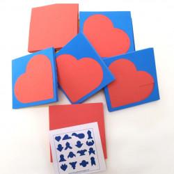 Puzzle corazón (10)
