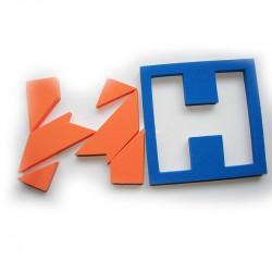 Puzzle de la H
